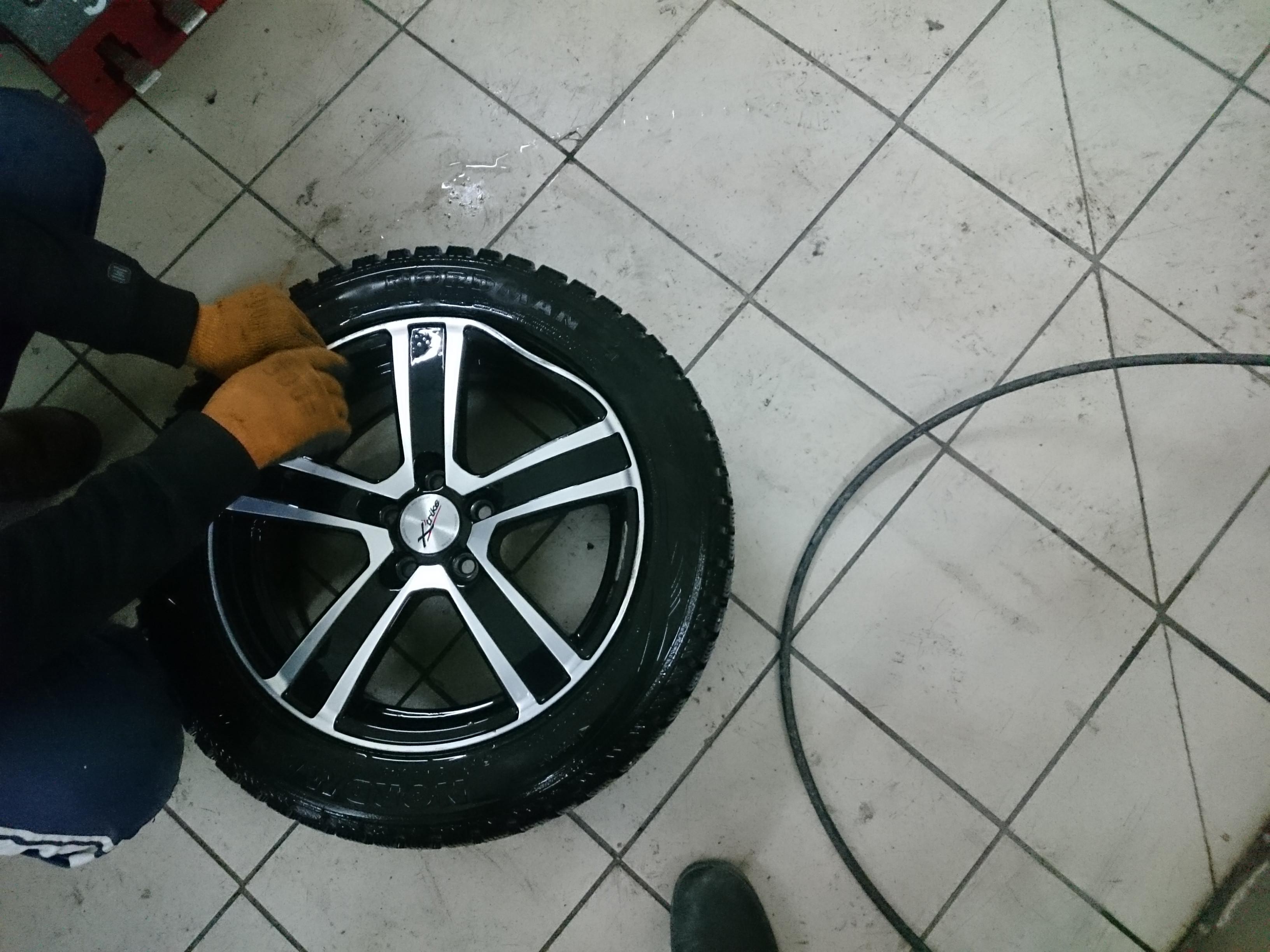 Как выпрямить диск колеса своими руками 56