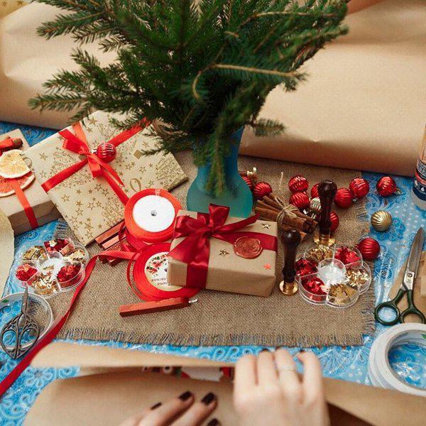 Упаковка подарков академическая 74