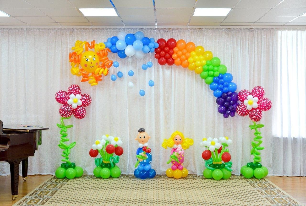 Оформление зала в детском саду своими руками  967