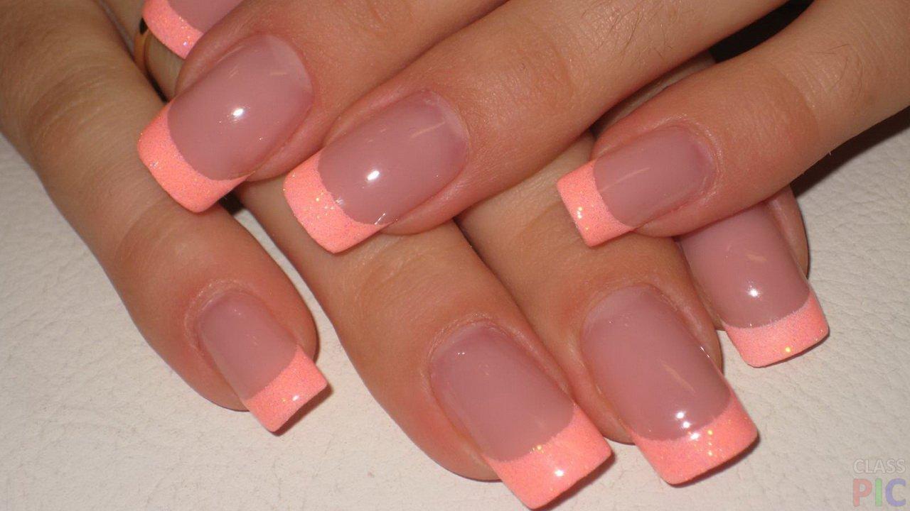 Фото нарощенных маленьких и квадратных ногтей