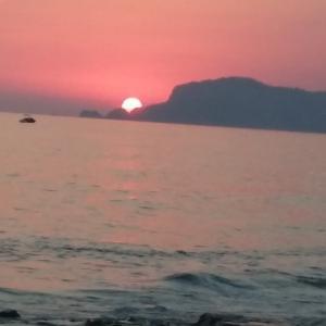 Закат на море в п. Махмутлар Турция 2015 г.