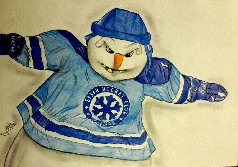 хк сибирь картинки снеговика турнире италии