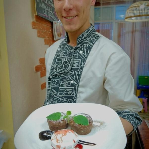 Шоколадный флан Горячий кекс и тающий шоколад, что может быть лучше?