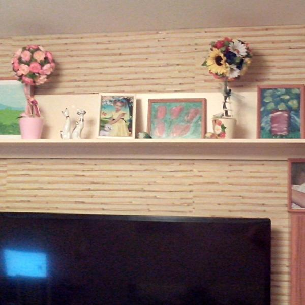 Все картины нарисованы дочкой на уроках ИЗО масляными красками на холсте