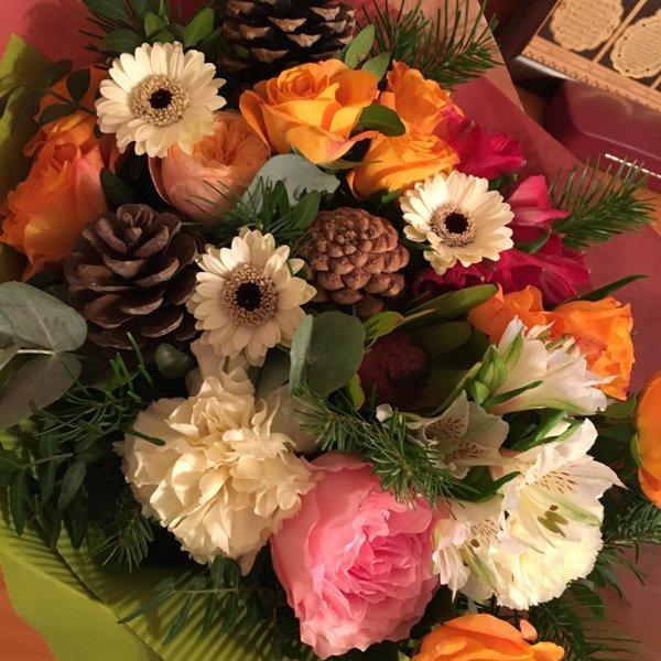Букет цветов, букеты на заказ 1905 года
