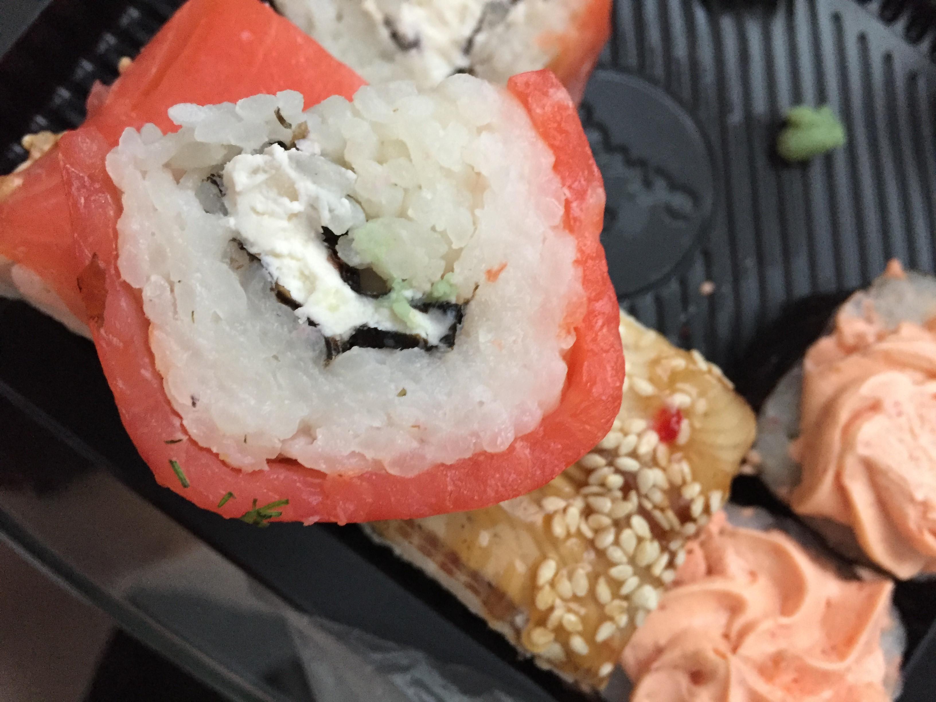 Служба доставки суши