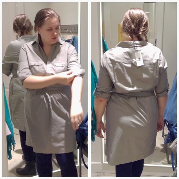 Универсальное платье-рубашка для базового гардероба - любовь с первого взгляда :)