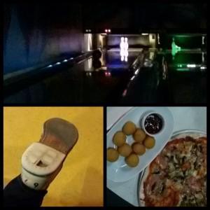 Боулинг, обувь и еда