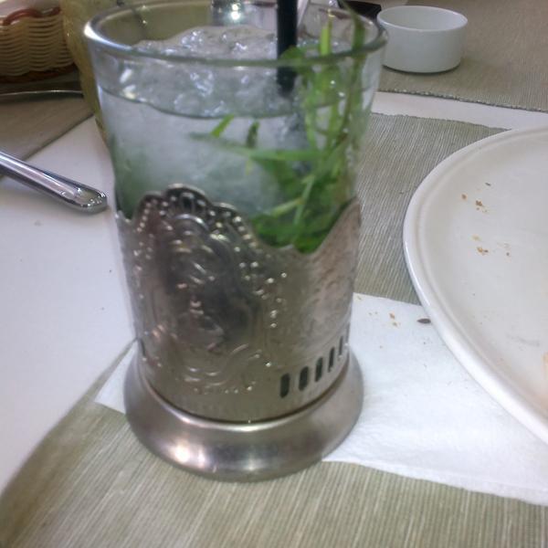 Дачный джулеп - просто и вкусно)
