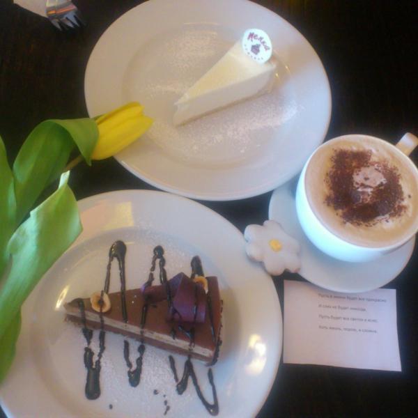 Сбылась мечта — шоколадный торт на 8 марта))