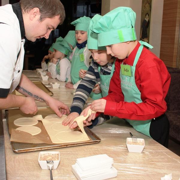 Детское кулинарное шоу 5 января 2013