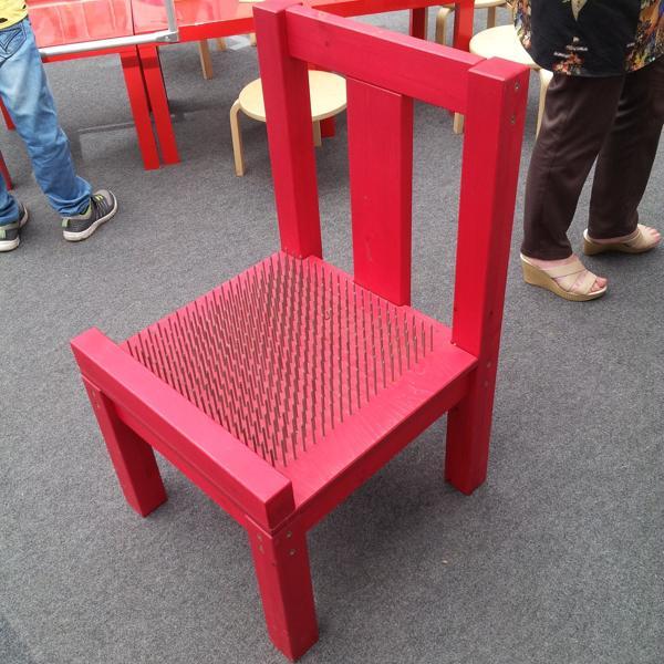 Интересный стул из одного научного кружка.