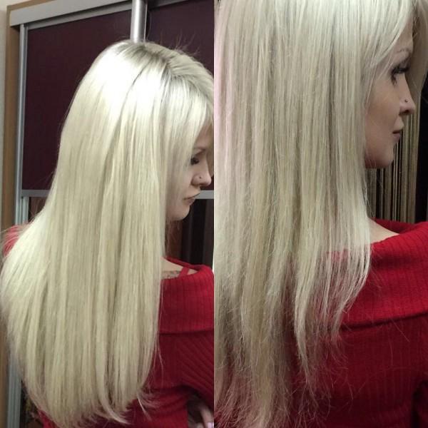 Блонд должен быть только идеальным! И мы знаем в это толк!  #наращивание и окрашивание #любите себя