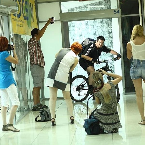 Вот так весело проходило занятие Фоошколы Александра Козлова в Фотобуме! )