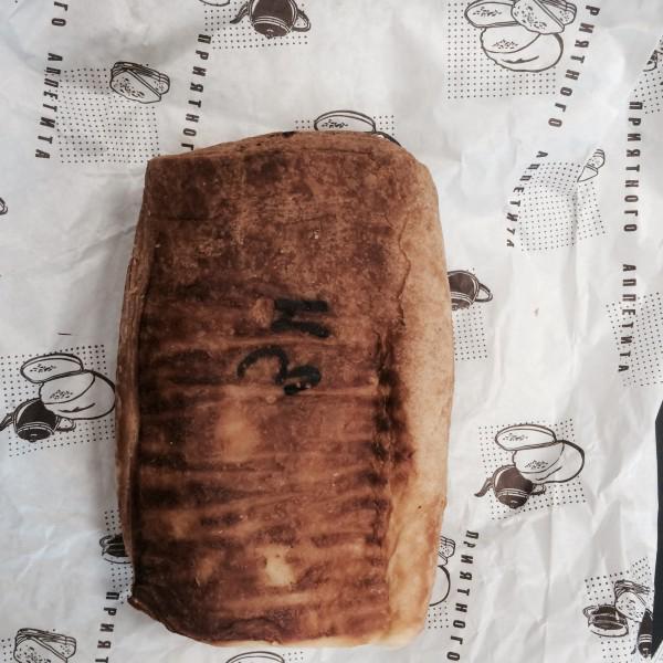 Надпись на слойке из Европейской !!! пекарни
