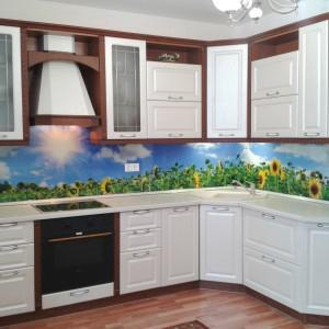 Вот такая красивая кухня получилась!