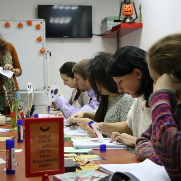 Один из классов Easy School во время занятия (ул.Дзержинского).