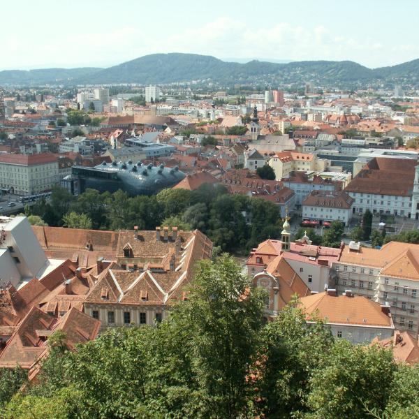 город студентов Грац Австрия