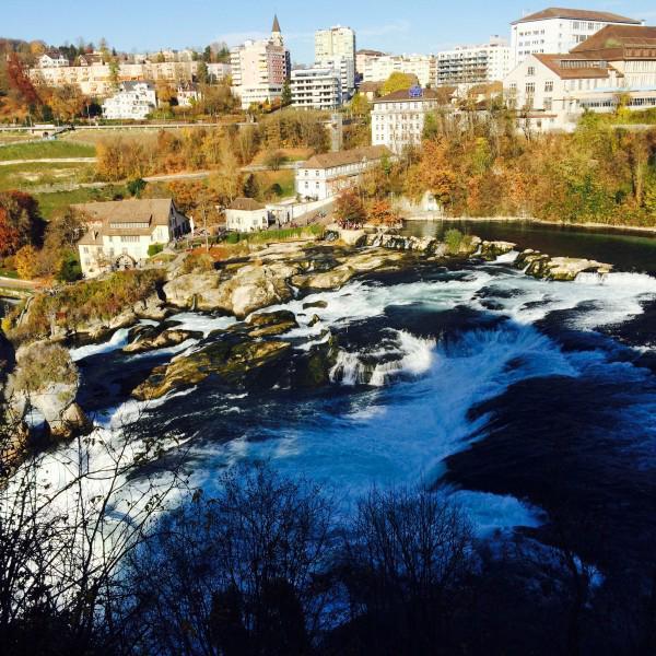 это Рейнский водопад