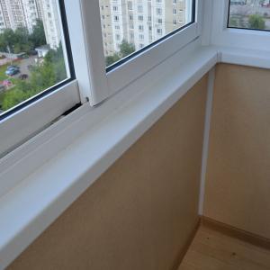 Мой балкон из раздвижного пвх профиля!