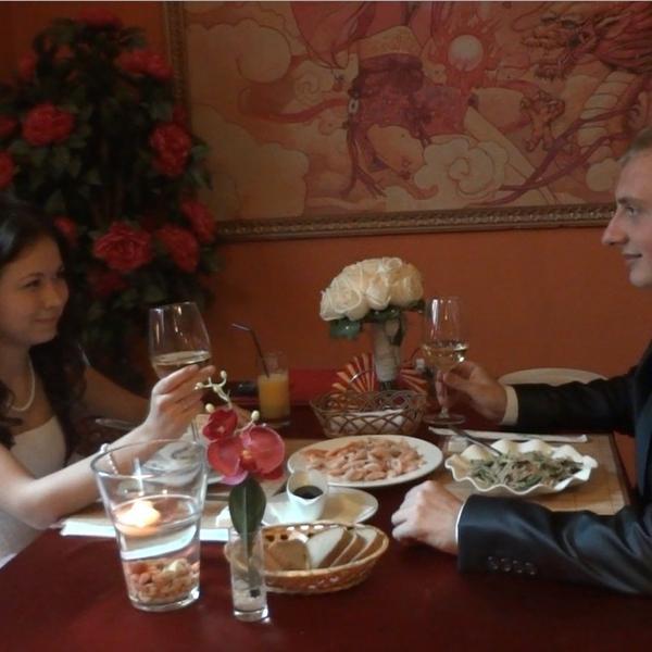 Наш вечер в Ресторане китайской кухни...)