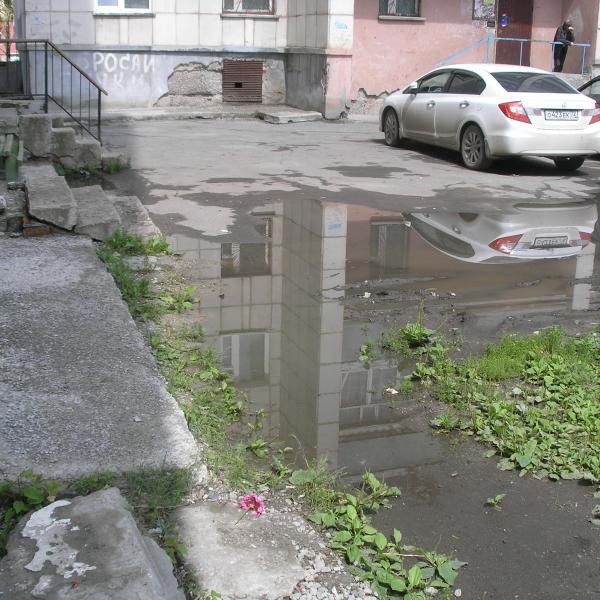 Это через несколько дней после дождя