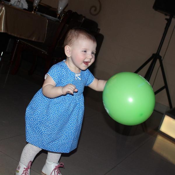 Даже наша годовалая дочка в восторге)))