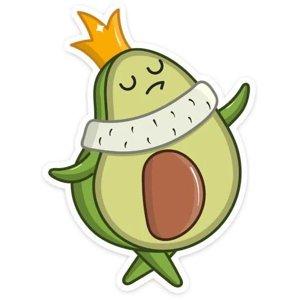 Смешной авокадик