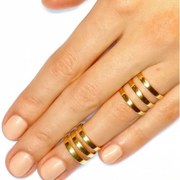 Кольца на две фаланги