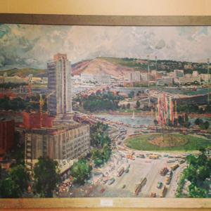 "Картина ""Красноярск 1980-е года.."""