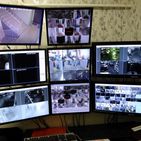 Вид на рабочее место оператора.