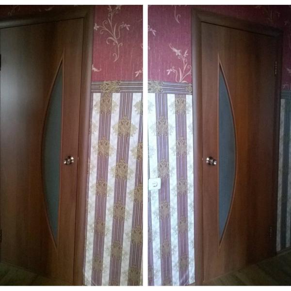 Двери межкомнатные ламинированные.