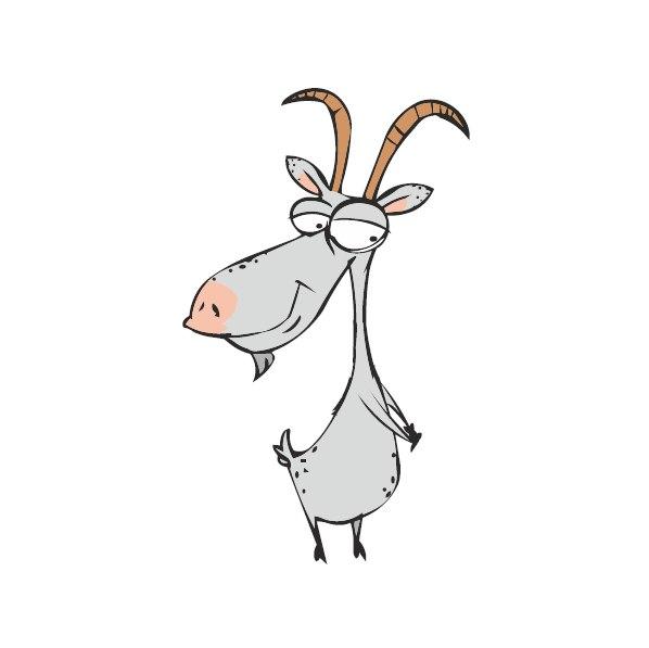 Коза смешные рисунки