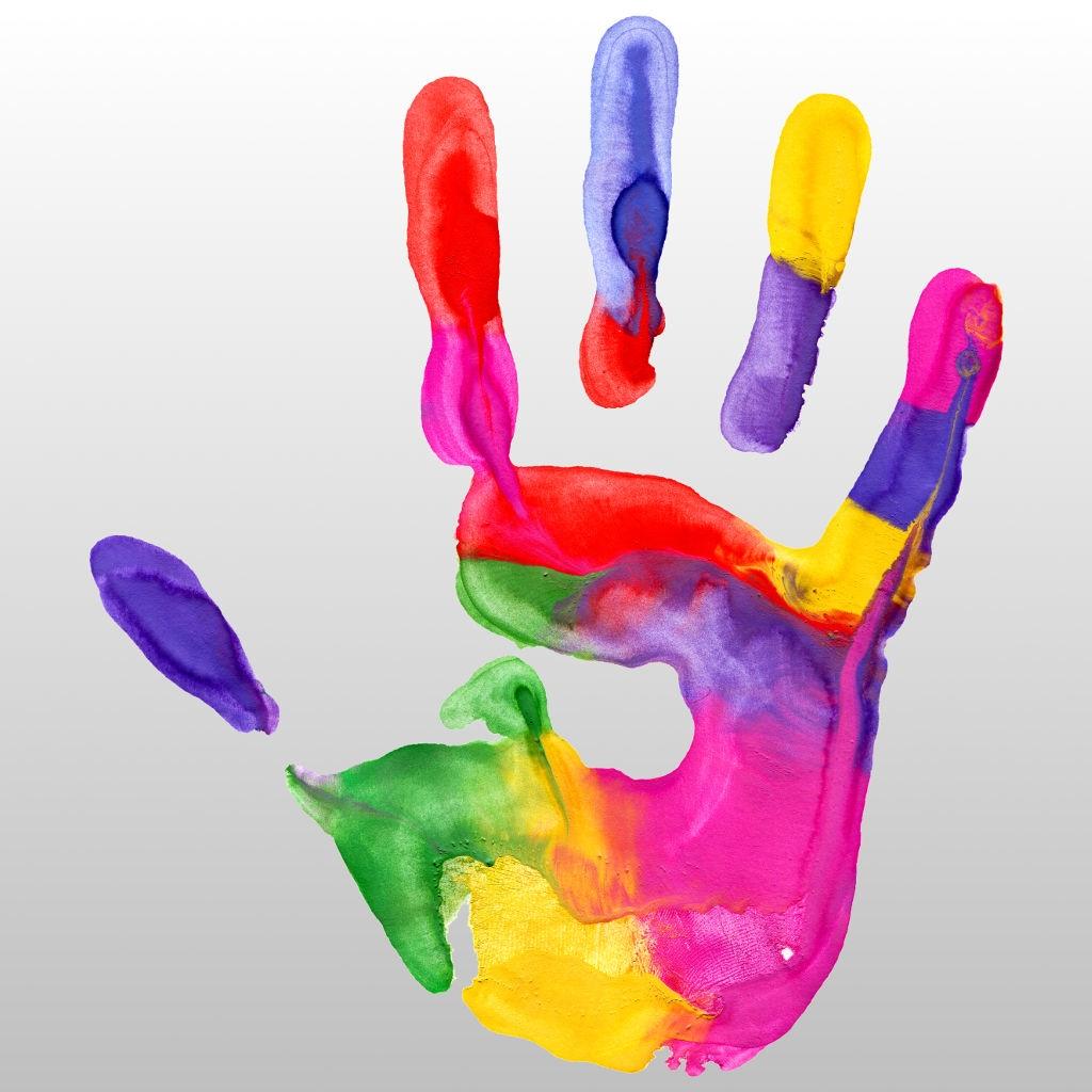разноцветные пальцы картинки острова индийском