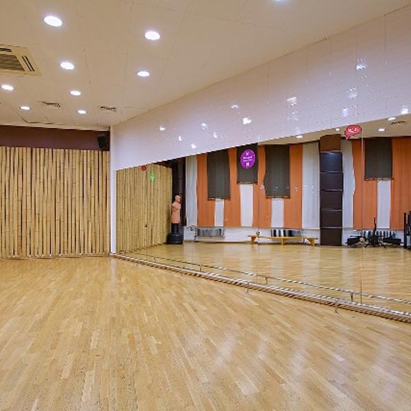 8 залов для групповых и индивидуальных занятий. Зал Восточных единоборств