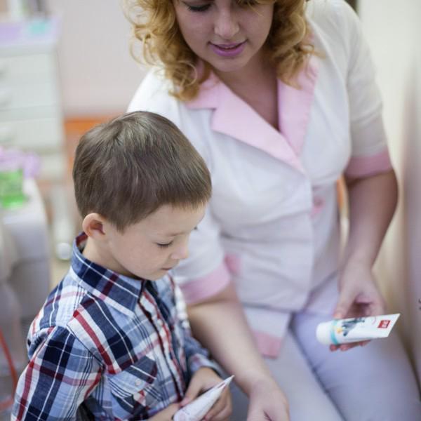 Обучение ребенка гигиене полости рта