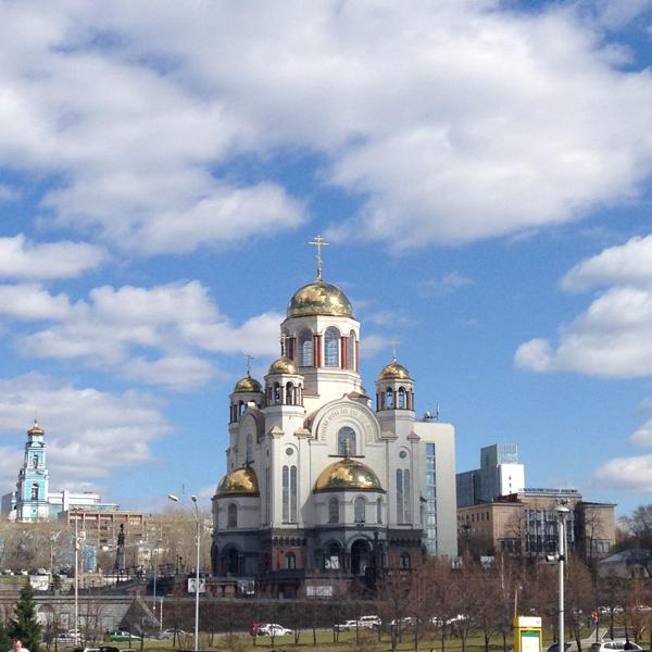 Храм-на-Крови.Екатеринбург.