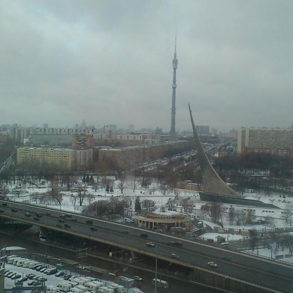 Вид из нашего окна))