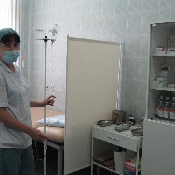 К вашим услугам процедурный кабинет: полная стерильность!