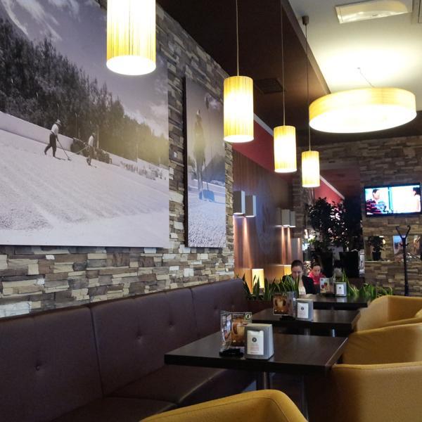 Венская кофейня внутри