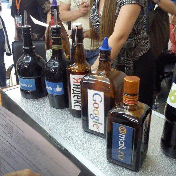 Бутылочки для коктейлей от IT-Mix с PR онлайн =)