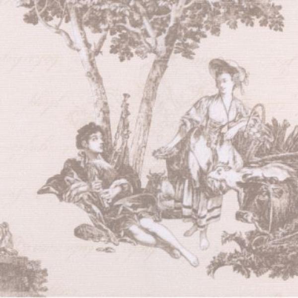 Фрагмент картинки из плитки Пастораль