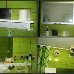 А это фото моей ванной комнаты.