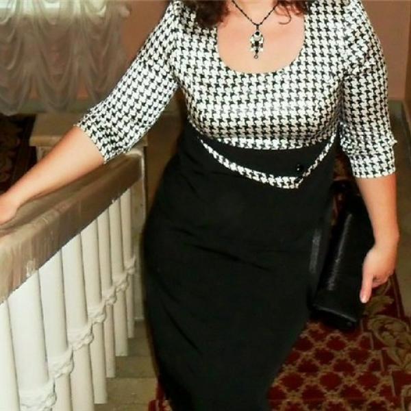 Вот это платье. Я очень довольна!