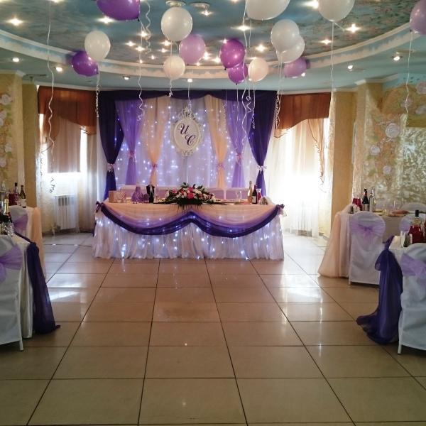 Свадьба 17 апреля на 60 человек