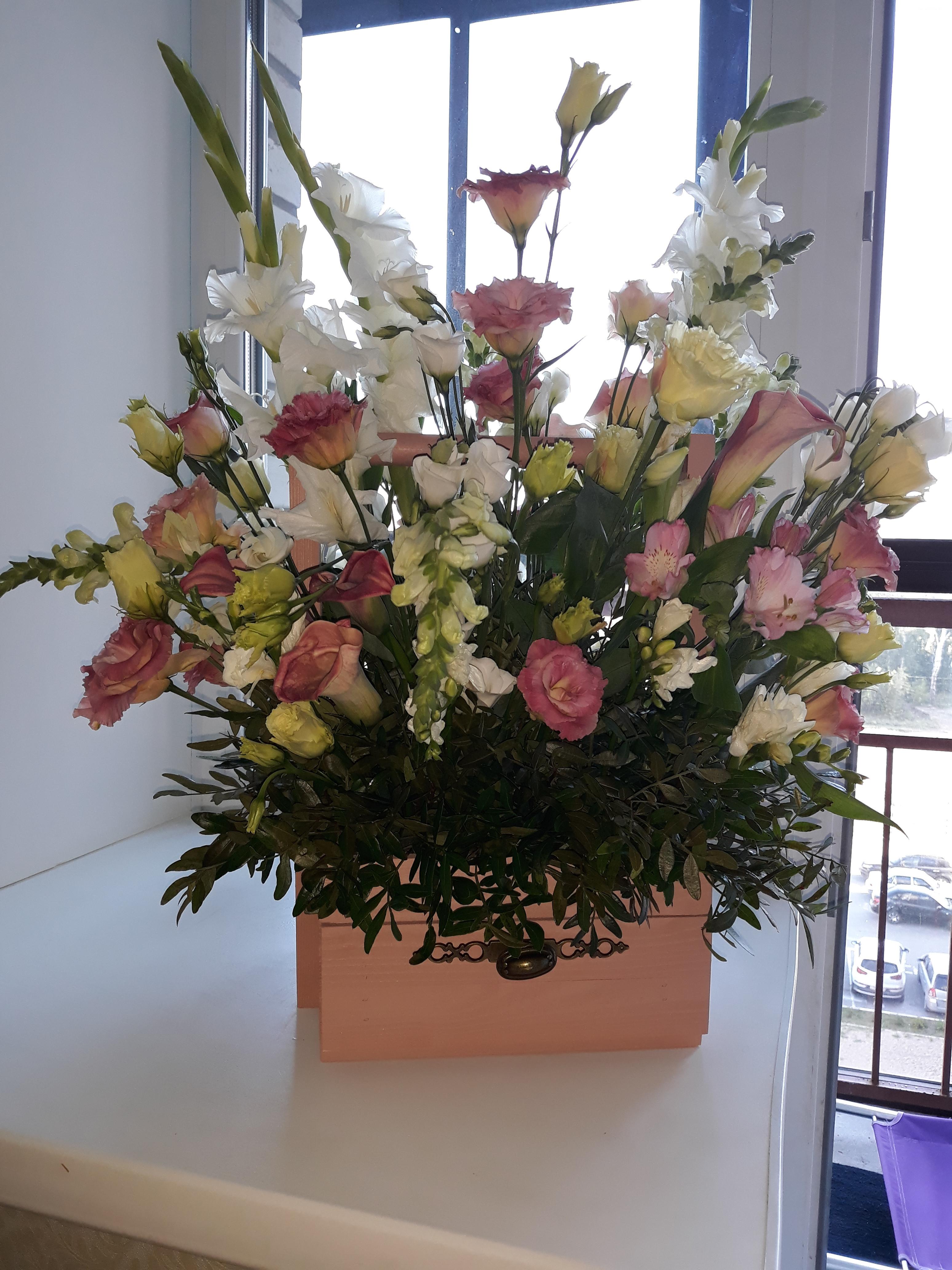 Невесты круглый, доставка цветов у яблоньки омск