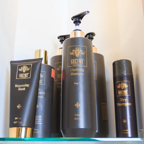 Восстановление и выпрямление  волос Революционная система от Greymy Professional