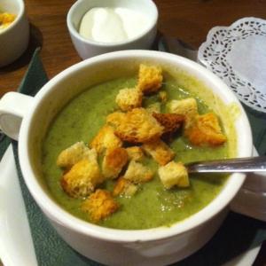 Удивительный  супик из шпината! БОМБА!