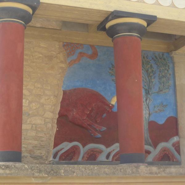 Кносский дворец, о-в Крит
