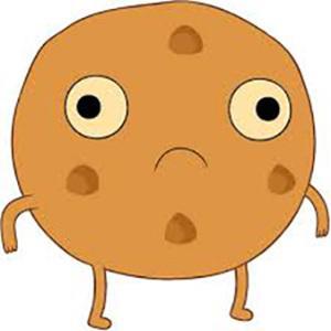 Недовольная печенька